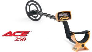Garrett ACE 250 Metalldetektor / Metallsuchgerät