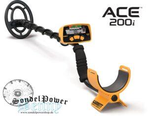 Garrett ACE 200i Metalldetektor 200 i