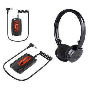 Quest Funkkopfhörer Kopfhörer Wire-Free W3 Wireless Headphones
