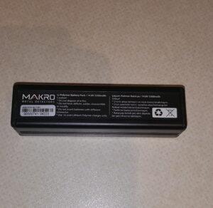 Makro Jeohunter und Deephunter Akku Lythium Polymer Batterie Akkubatterie