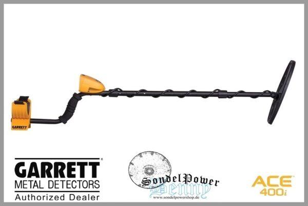 Garrett ACE 400i Metalldetektor 400 i