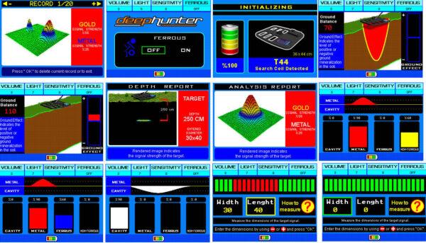 Makro Deephunter 3D Sandard Package Basic Set Paket Golddetektor