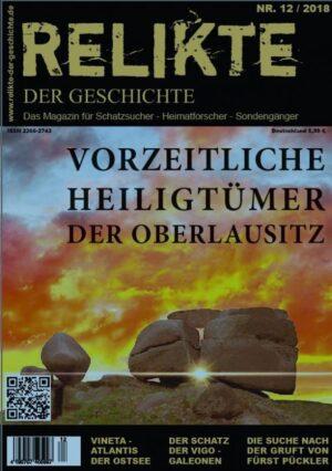 Relikte der Geschichte Ausgabe 12 Schatzsucher Magazin Heft