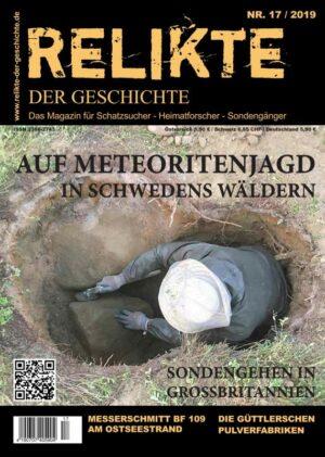 RELIKTE der Geschichte Ausgabe 17 Heft Magazin