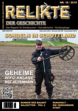 RELIKTE der Geschichte Ausgabe 18 Heft Magazin