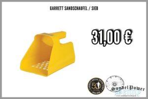 Garrett Sandschaufel/Sieb Kunststoff
