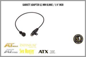 "Garrett Adapter 6,3 mm Klinke / 1/4"" Inch"