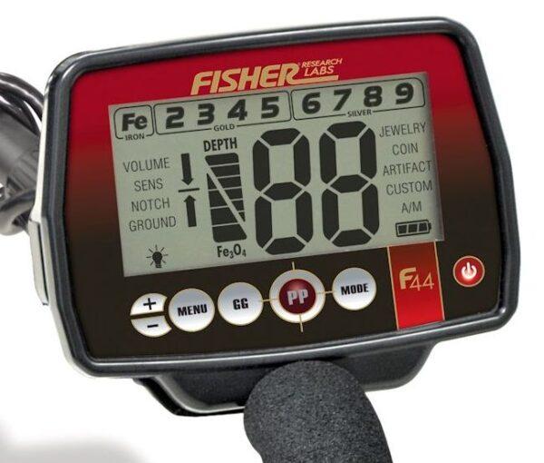 Fisher F44 Metalldetetkor Metallsonde