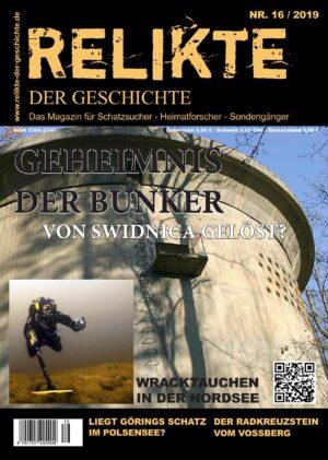 RELIKTE der Geschichte Ausgabe 16 Heft Magazin