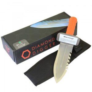 Deteknix Edelstahl Diamond Edge-Digger Grabungsmesser