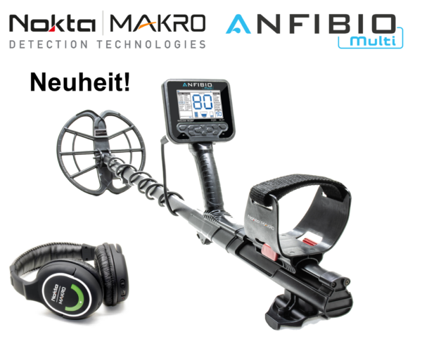 Nokta   Makro Anfibio Multi Metalldetektor Wasserdicht 5 Meter + Gratiszugaben