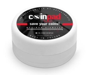 Funddose Münzdose Coinpad normal, 35mm