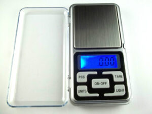 Digital Goldwaage 0,01 - 200g Feinwaage + Batterien