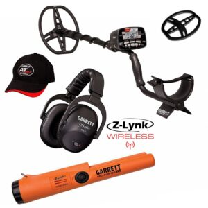 Garrett AT MAX Deluxe Set + gratis Pro Pointer AT Z-Lynk Pinpointer
