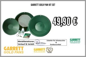 Garrett Gold Pan Kit - Goldpfannen Set zum Gold waschen