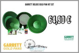 Garrett Deluxe Gold Pan Kit Set - Goldpfannen Set Luxus zum Gold waschen