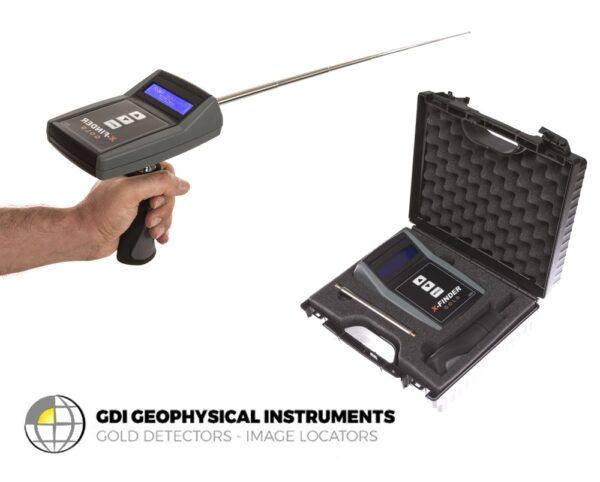 Gold X-Finder Detektor - Long Range Locator Goldfinder Antenne