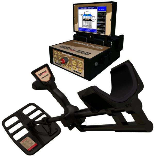 Makro Jeohunter 3D Dual System Bodenscanner Golddetektor