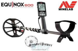 Minelab Equinox 600 Metalldetektor Metallsuchgerät Metallsonde Detektor