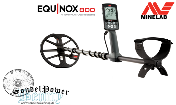 Minelab Equinox 800 Metalldetektor Metallsuchgerät Metallsonde Detektor