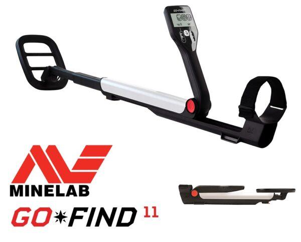 Minelab GO-FIND 11 Metalldetektor Kinder Detektor Metallsuchgerät