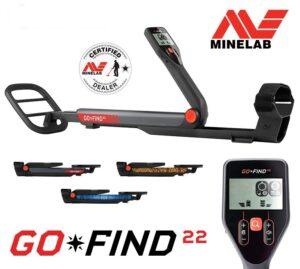 Minelab GO-FIND 22 Metalldetektor Metallsonde Metallsuchgerät
