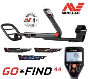 Minelab GO-FIND 44 Metalldetektor Metallsonde Metallsuchgerät