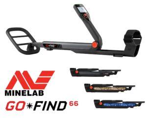 Minelab GO-FIND 66 Metalldetektor Metallsonde Metallsuchgerät Neu