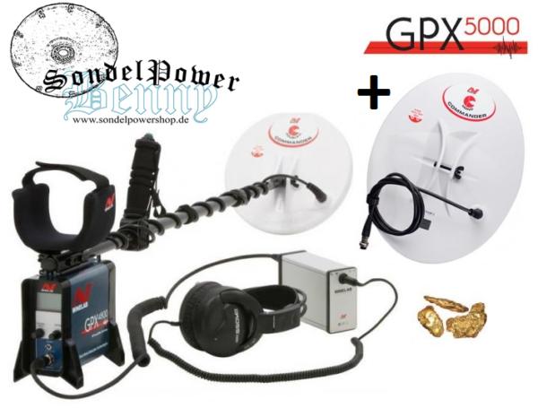 Minelab GPX 5000 Goldnugget Detektor Detector Golddetektor Metalldetektor