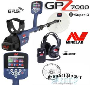 Minelab GPZ7000 - GPZ 7000 Golddetektor Gold Metalldetektor Profidetektor