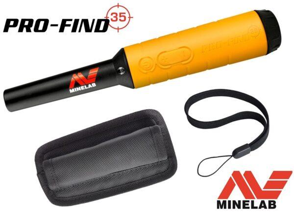 Minelab Pro-Find 35 Pinpointer Profind Pointer Eisenerkennung