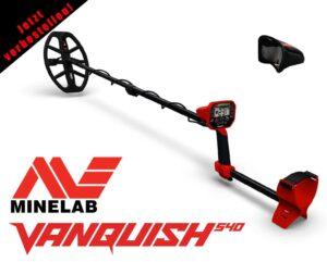 Minelab Vanquish 540 Metalldetektor Metallsuchgerät Metallsonde