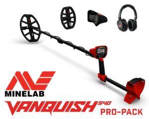 Minelab Vanquish 540 Pro-Pack Metalldetektor Metallsonde Metallsuchgerät Package