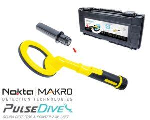 Nokta|Makro PulseDive gelb Unterwasser Metalldetektor Unterwasserdetektor