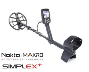 Nokta | Makro Simplex + Metalldetektor Metallsuchgerät Metallsonde Detektor Detector