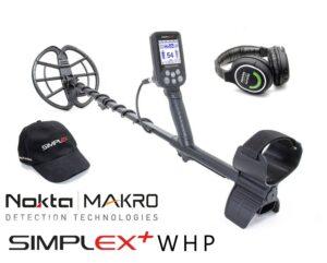 Nokta | Makro Simplex + WHP Funkkopfhörer Metalldetektor Metallsuchgerät Metallsonde Detektor Detector