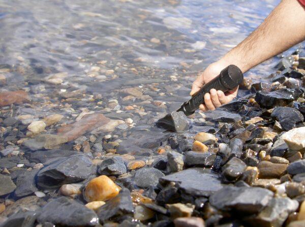 Nokta|Makro PulseDive schwarz Unterwasser Metalldetektor Unterwasserdetektor