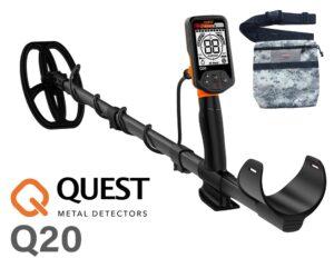 Quest Q20 Metalldetektor Metallsonde Metallsuchgerät