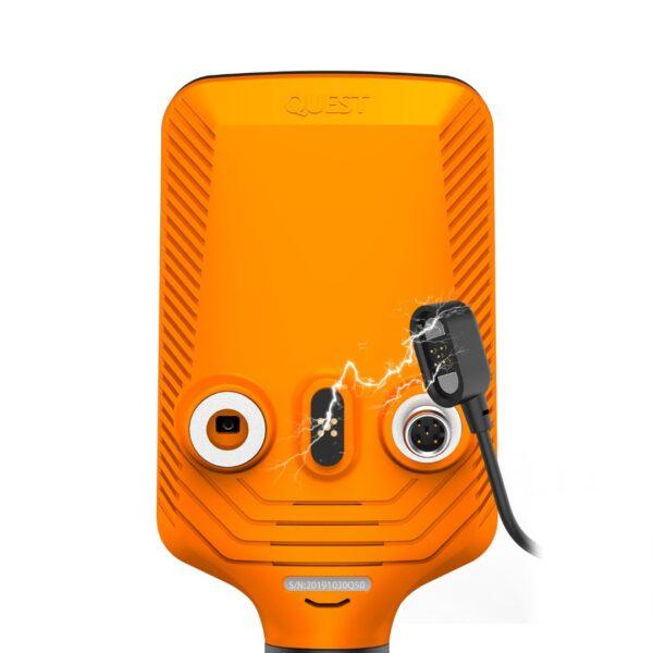 Quest Q60 Metalldetektor Metallsuchgerät Metallsonde wasserdicht 5 Meter
