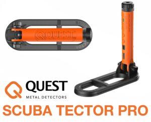 Quest Scuba Tector Pro Unterwasser-Detektor Metalldetektor 60 Meter