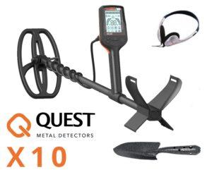 Quest X10 Metalldetektor Metallsuchgerät Metallsonde