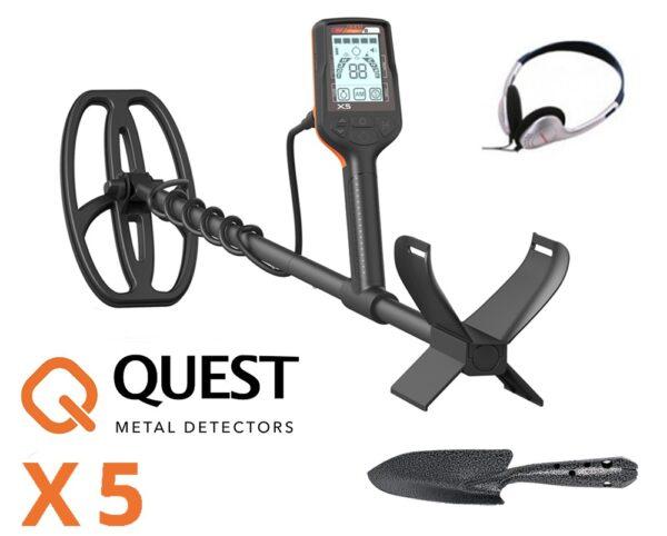 Quest X5 Metalldetektor Metallsuchgerät Metallsonde