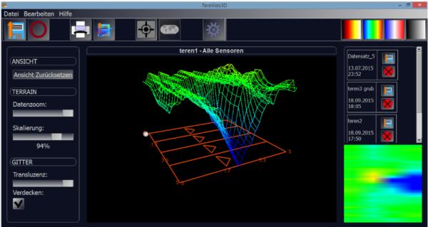 Tero Vido Expander Bodenradar Bodenscanner 3D Metalldetektor Hohlraumdetektor