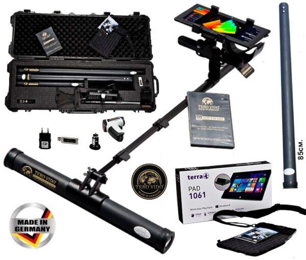 Tero Vido 3D System Basic Plus Bodenscanner Metalldetektor