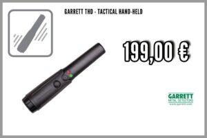 Garrett THD - Tactical Hand-Held Hand-Metalldetektor / Handscanner