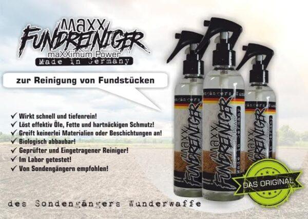 MAXX Fundreiniger maximum Power für Sondengänger