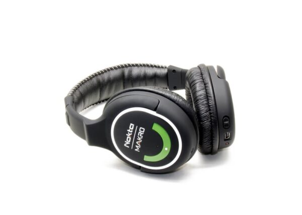 Nokta|Makro Simplex + 2.4GHz Kabellose Kopfhörer (Green Edition) Wireless Headphones