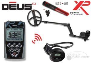 XP DEUS X35 28 RC WS4 Komplett-Set V5.2 + MI-6 Pinpointer Angebots-Paket!