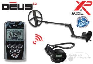 XP DEUS X35 28 RC WS4 Komplett-Set Metalldetektor Metallsuchgerät Metallsonde
