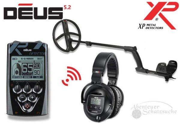 XP DEUS X35 28 RC WS5 Komplett-Set V5.2